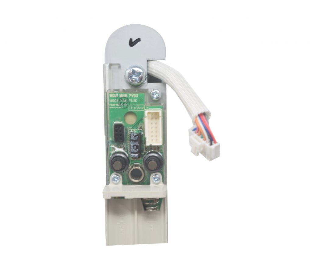 keyfree smart door lock with the cable removed from the back