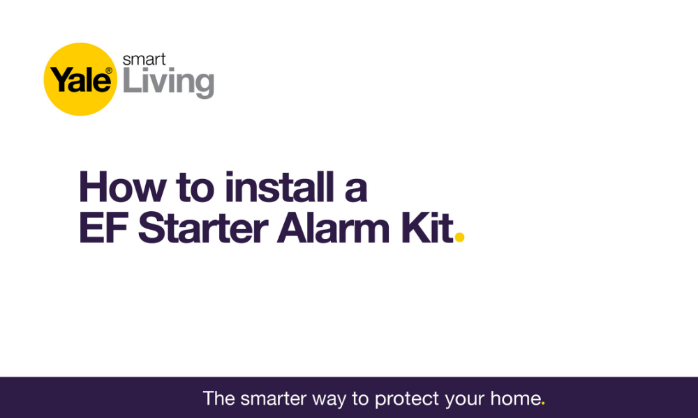 Image linking to video showing how to install a EF starter alarm.
