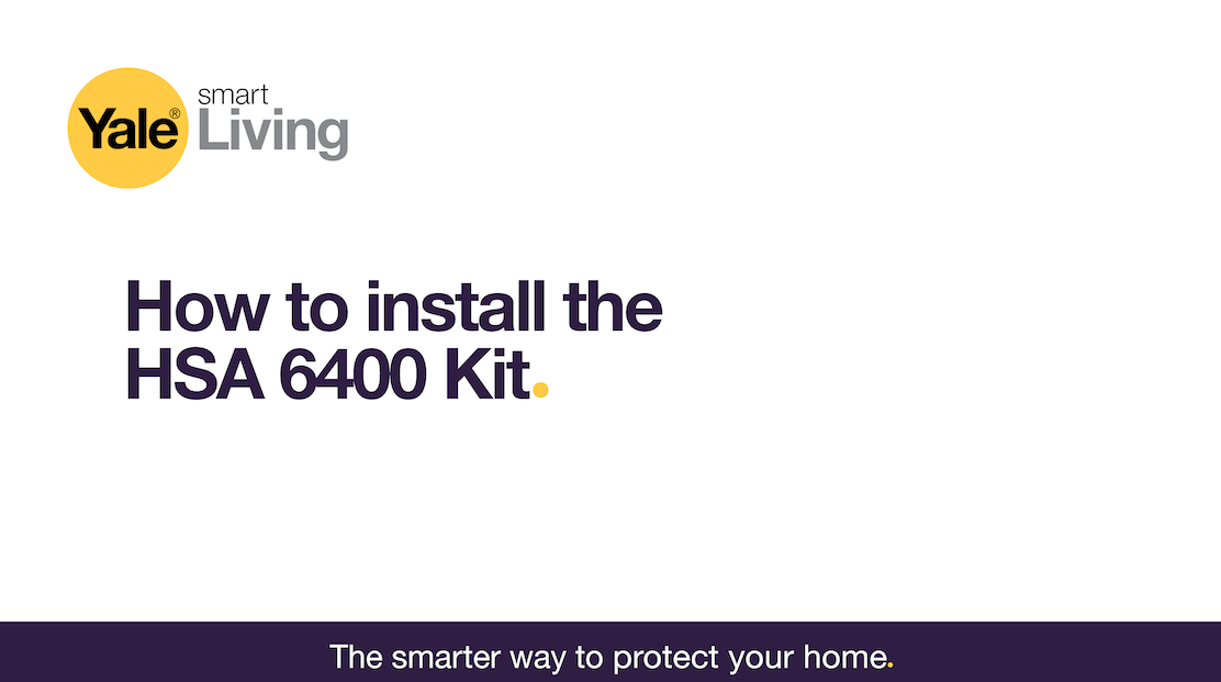 Image linking to video showing how to install the HSA 6400.