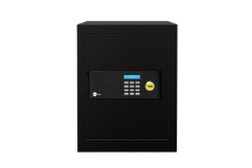What is the door thickness of the maximum security safe?